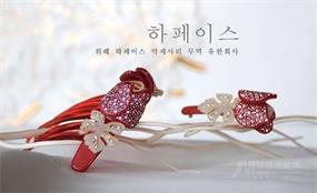 韩国花菲饰品